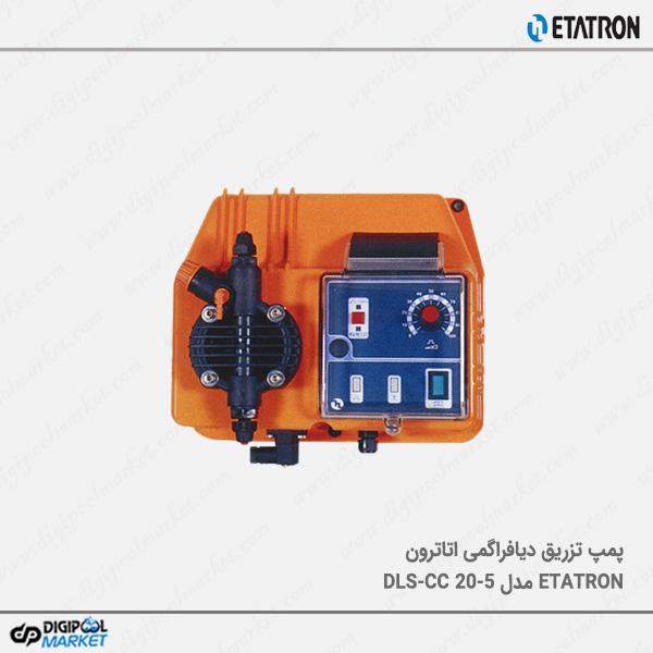 دوزینگ پمپ دیافراگمی ETATRON مدل DLS-CC 20-5
