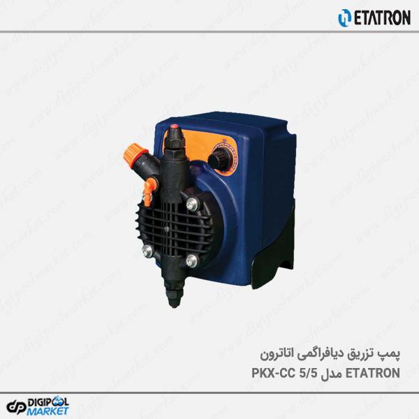 دوزینگ پمپ دیافراگمی ETATRON مدل PKX-CC 5/5