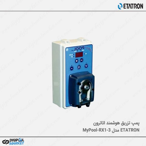 دوزینگ پمپ هوشمند اتاترون ETATRON مدل MyPool-RX1-3