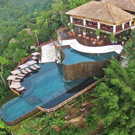 استخرهای شگفت انگیز بالی