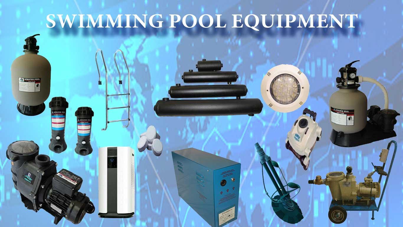 تجهیزات استخر شنا
