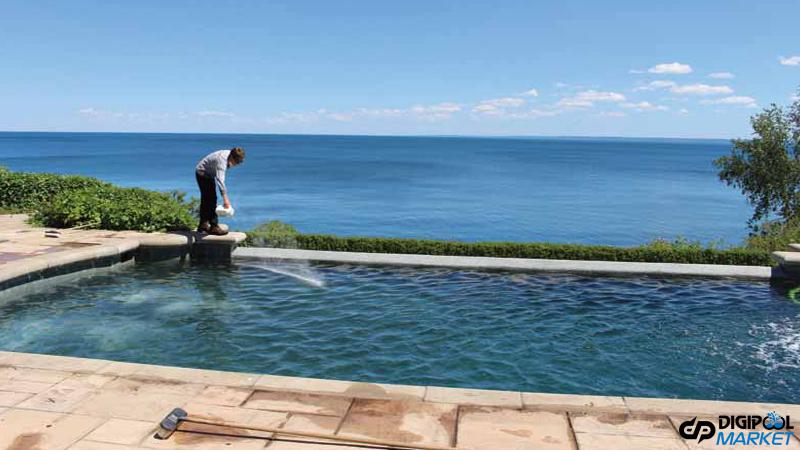 کاهش آب با اجرای پمپ استخر