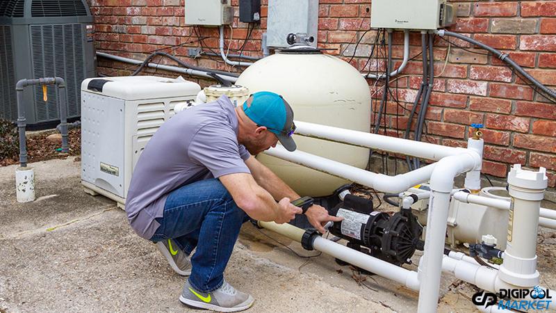 کاهش مصرف برق پمپ استخر